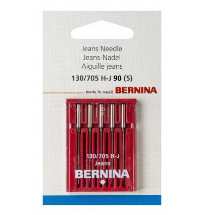 Aguja BERNINA 705H Jeans nº90  5 unidades
