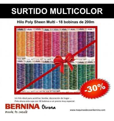 Caja 18 bobinas METTLER Poly Sheen Multi