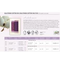 Organizador de hilos METTLER 96 bobinas algodón grosor 50