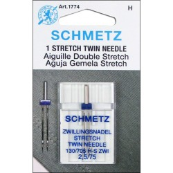 Aguja SCHMETZ Doble Stretch...