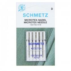 Aguja SCHMETZ Microtex nº70