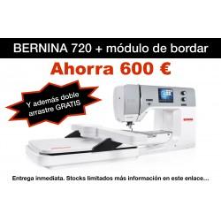 BERNINA 720 con módulo de...