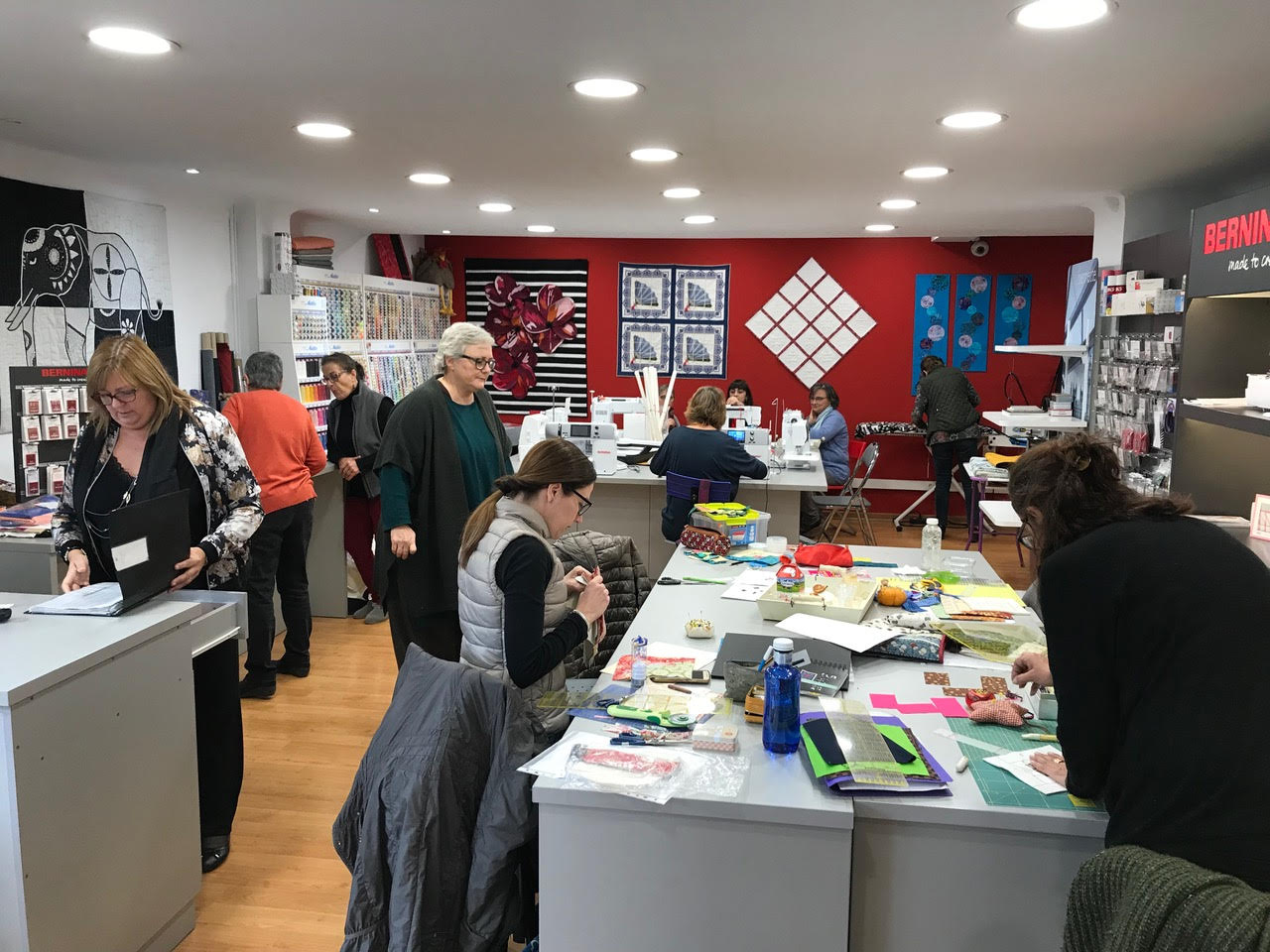 Bernina Girona tienda física